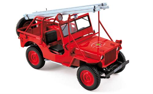 Fire Department Vehicle 1988 (Jeep) - 1:18 - Norev